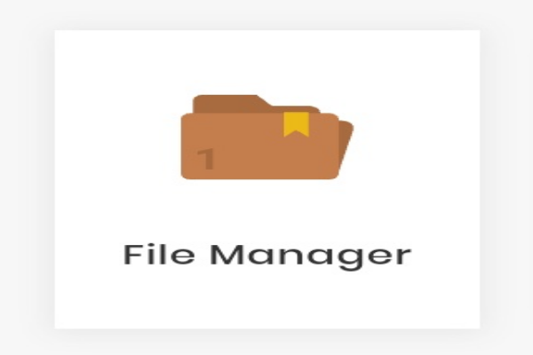 Menu file manager
