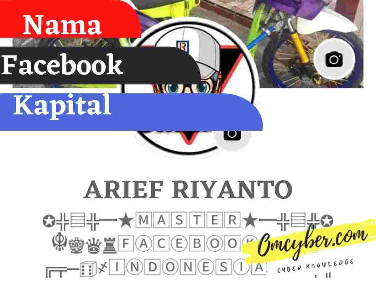 Cara Membuat Nama Facebook Kapital