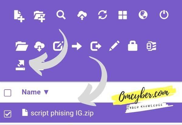 cara membuat web phising cpanel
