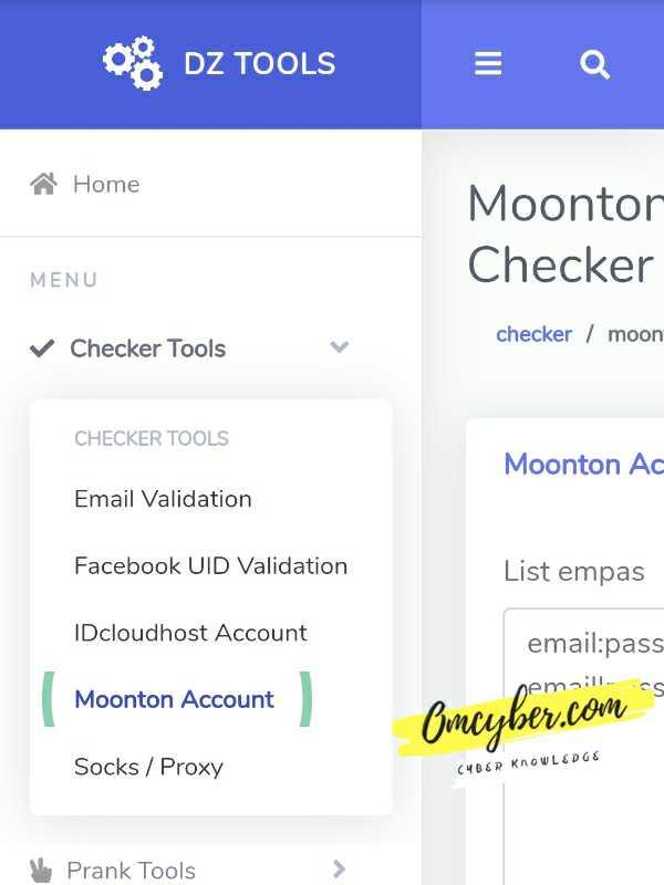 Moonton checker dz tools