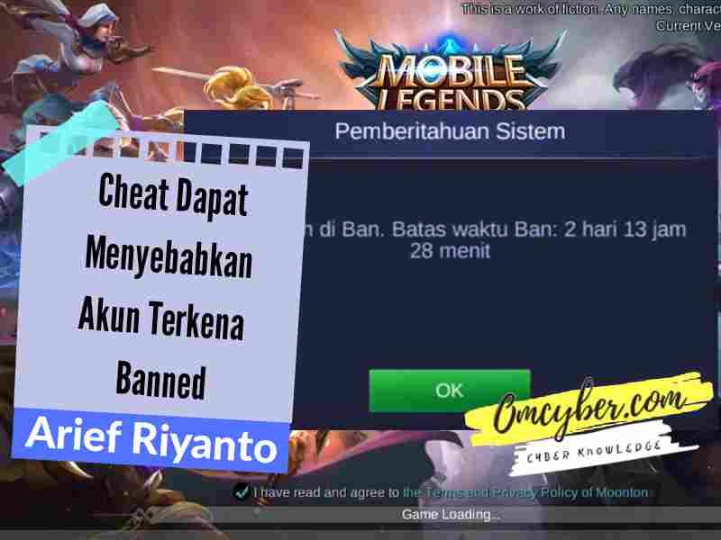 Penggunaan script rank booster mengakibatkan banned