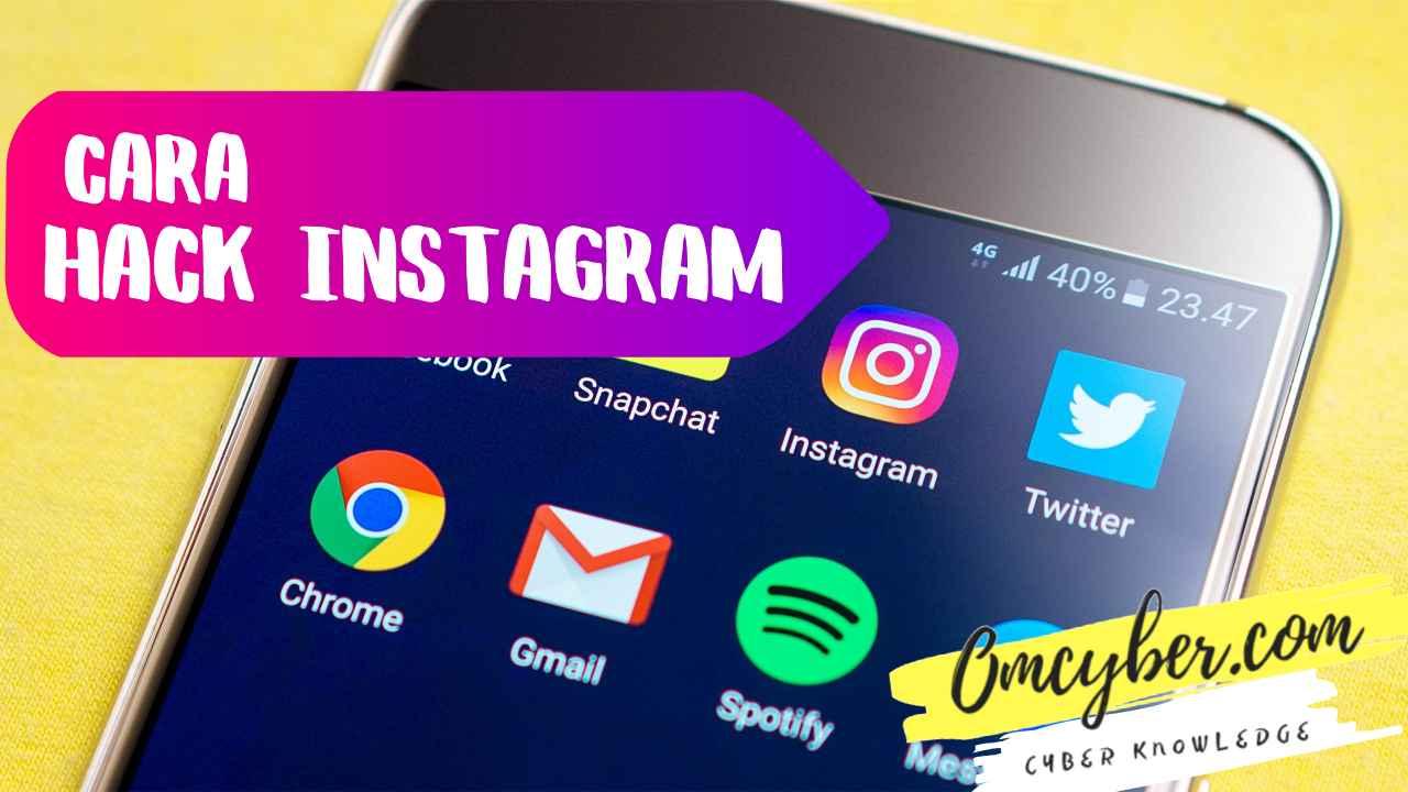 Tips cara hack instagram