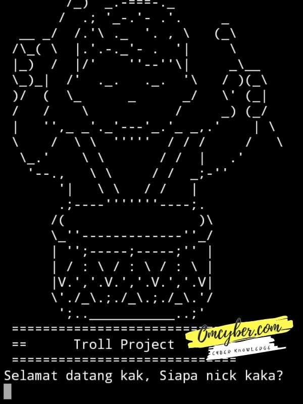 Tools hack Bae Troll project