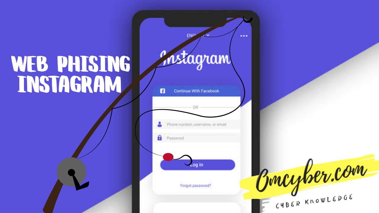 3 web phising instagram dengan tampilan menarik