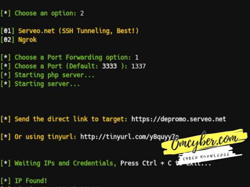 cara hack facebook termux script shellphish