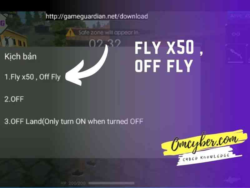 menu fly x50 off fly fly cheat fly hack free fire