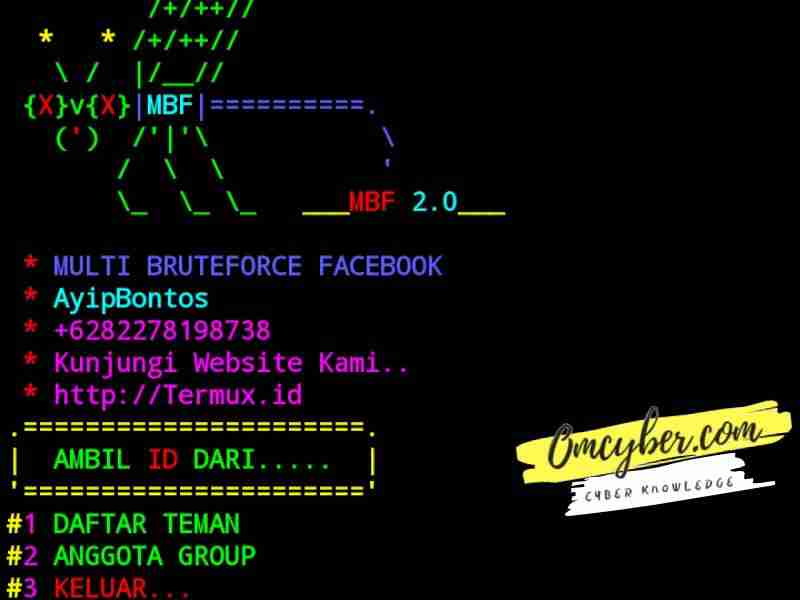 script multi bruteforce facebook