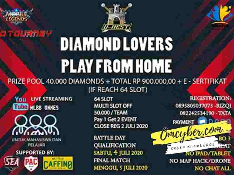 turnamen mobile legend hadiah diamond gratis